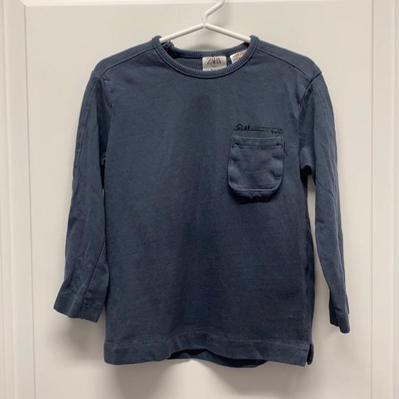Zara Baby Long Sleeve T sz 3-4